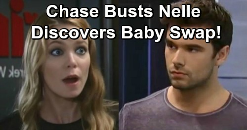 General Hospital Spoilers: Chase Takes Nelle Down For Baby Jonah Swap – Willow's Spilled Wiley Secrets Provide The Key