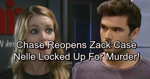 General Hospital Spoilers: Chase Exposes Nelle's Lies, Reopens Zack Grant Case – Carly Set Free, Nelle Lands Behind Bars
