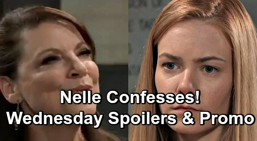 General Hospital Spoilers: Wednesday, December 26 – Nelle Confesses to Dr. O – Willow Talks Pregnancy With Michael