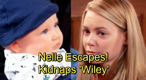 General Hospital Spoilers: Nelle Escapes, Kidnaps 'Wiley' – Strong Baby Bond Drives Mom to Desperate Scheme?