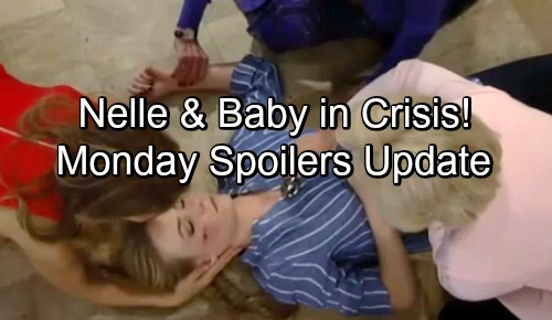 General Hospital Spoilers: Monday, May 14 Update – Sonny and Jason Croton Mystery – Nelle and Baby in Crisis, Carly Blamed
