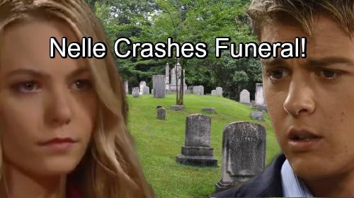 General Hospital Spoilers: Nelle Crashes Baby Jonah's Funeral – Sparks Michael's Meltdown?