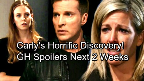 General Hospital Spoilers for Next 2 Weeks: Carly's Horrific Discovery – Drew's Losing Sam – Peter Battles Guilt