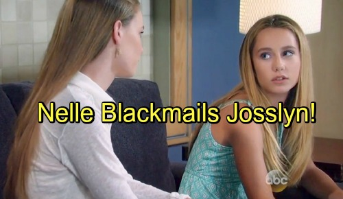 General Hospital Spoilers: Nelle Targets Josslyn – Resorts to Blackmail as Secrets Start Spilling
