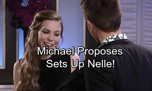 General Hospital Spoilers: Michael Proposes to Nelle – Engagement Drops Her Guard Before Shocking Exposure