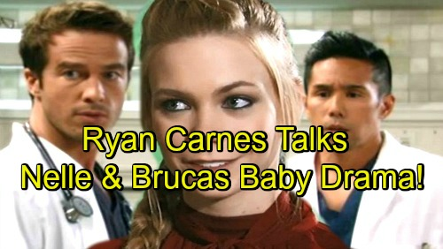 General Hospital Spoilers: Ryan Carnes Reveals Stunning Brucas Baby Clues – Dishes on Nelle, Carly, Gender and More