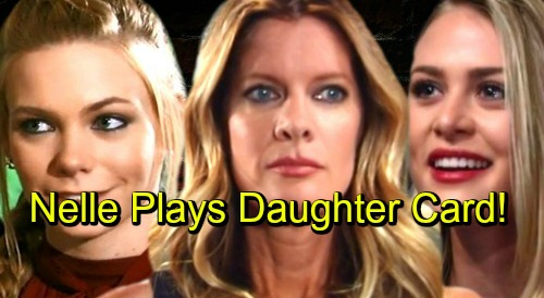General Hospital Spoilers: Nelle Uses Daughter Discovery to Her Advantage – Nina's Kid Exploits Mommy Dearest, Hopes for Freedom?