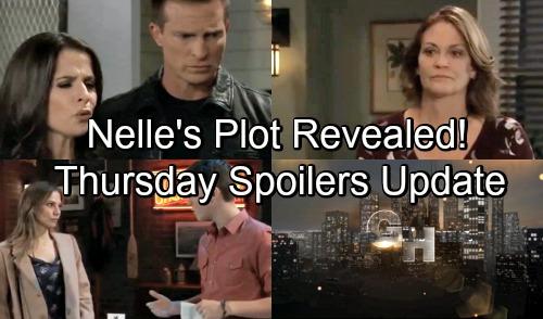 General Hospital Spoilers: Thursday, November 8 Update – Nelle's Trick Revealed - Jason and Sam's Crazy Encounter