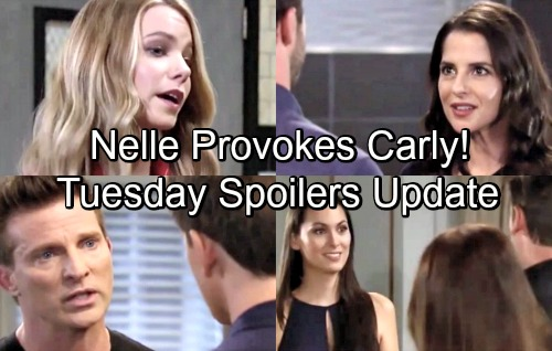 General Hospital Spoilers: Tuesday, July 3 Update – Michael Won't Back Down – Nelle Provokes Carly – Liz's Friend Stuns Franco