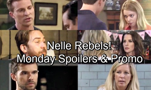 General Hospital Spoilers: Monday, July 2 – Chase's Confession – Nelle Questions Marriage – Maxie Grills Sam About Peter