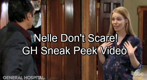 General Hospital Spoilers: GH Sneak Peek Video – Sonny Threatens - Nelle Remains Defiant, Says Carly Will Pay