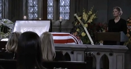General Hospital Spoilers: Friday, February 9 – Nathan's Funeral Brings Heartbreak – Maxie's Farewell – Nina's Emotional Speech