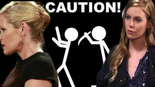 General Hospital Spoilers: Ava Pushes Kiki Toward Michael – Stabs Nelle in the Back to Keep Griffin for Herself