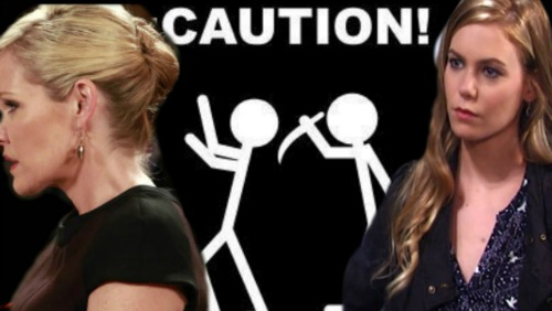 General Hospital Spoilers: Nelle Sets Ava Up For Carly's Demise - Ava Framed In Evil Plan