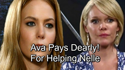 General Hospital Spoilers: Ava Pays Dearly For Helping Nelle - Suffers Wrath of Carly and Jason
