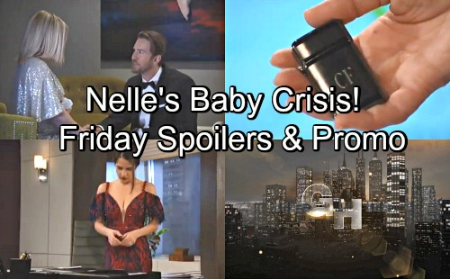 General Hospital Spoilers: Friday, May 18 – Jason's Going To Hurt Someone – Nelle's Baby Scare – Maxie Goes Into Labor