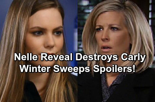 General Hospital Spoilers: Bobbie Exposes Nelle's Past - Carly Divorces Sonny Over Cheating