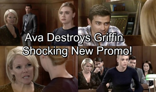 General Hospital Spoilers: Griffin's Betrayal Brings Bitter Revenge – Ava Exposes Illegal Paternity Test, Gets Griffin Fired