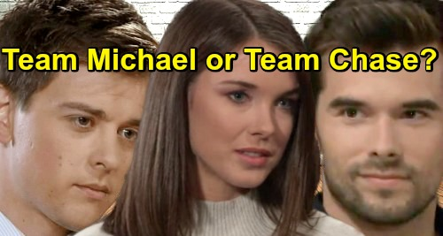 General Hospital Spoilers: Do You Want Willow with Michael or Chase - 'Millow' vs 'Chillow'