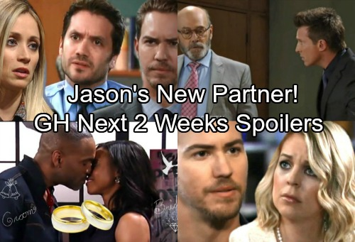 General Hospital Spoilers for Next 2 Weeks: Jason Teams Up With Shocking New Ally – Curtis Proposes – Maxie and Peter Heat Up