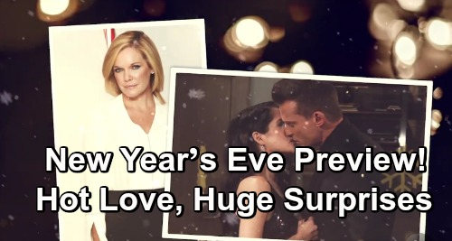 General Hospital Spoilers: New Year's Eve Preview – GH Delivers Hot Romance, Huge Surprises and Unraveling Mysteries