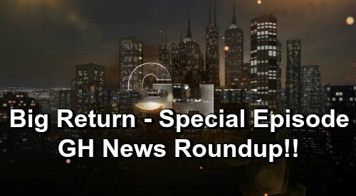General Hospital Spoilers: GH News Roundup – 56th Anniversary Fun – Exciting Comeback – Soap Star's Good Deed