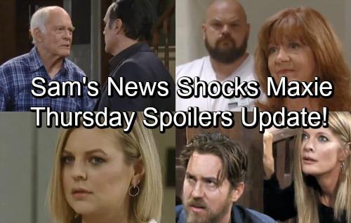General Hospital Spoilers: Thursday, July 19 Update – Liesl Tries to Burn Peter Alive, Nina Freaks – Sam's News Shocks Maxie