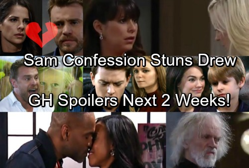 General Hospital Spoilers for Next 2 Weeks: Sam's Confession Stuns Drew – Maxie's Heartbreak - Robin's Shocker