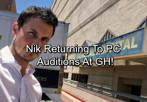 General Hospital Spoilers: Nikolas Cassadine Recast – Returns To GH