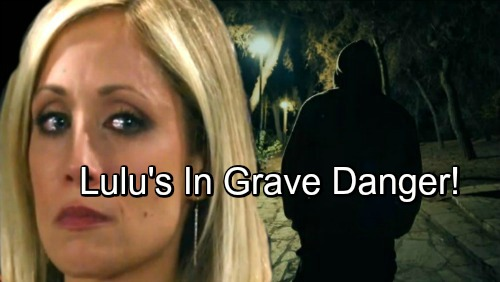 General Hospital Spoilers: Lulu in Grave Danger, Discovers Peter and Valentin's Connection
