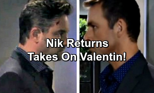'General Hospital' Spoilers: Nicholas Returns To Challenge Valentin