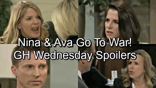 General Hospital Spoilers: Wednesday, November 21 – Cameron's Shocking Confession – Nina and Ava Go to War – JaSam's Jam