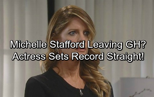 General Hospital Spoilers: Michelle Stafford Exiting GH? Veteran Actress Sets The Record Straight