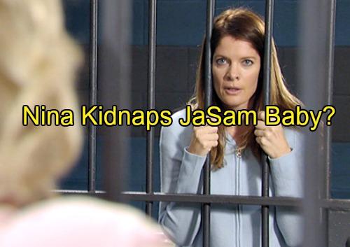 General Hospital Spoilers: Will Desperate Nina Kidnap JaSam's Baby?