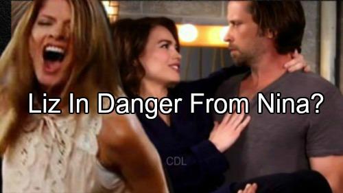 'General Hospital' Spoiler: Obsessed Nina Crazed With Jealousy Over Franco - Liz in Danger?