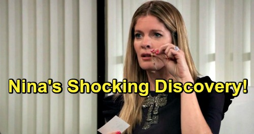 General Hospital Spoilers: Nina's Spots Missing Heart Pendant Piece - Shocking Discovery Deepens Daughter Mystery?