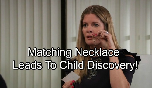 General Hospital Spoilers: Nina's Child Mystery Solved By Necklace - Daughter Found With The Other Half Heart