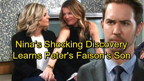 General Hospital Spoilers: Nina's Injury Leads To Shocking Discovery – Learns Peter Is Faison's Son [via celebdirtylaundry]