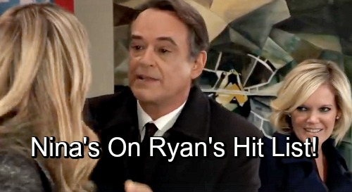 General Hospital Spoilers: Nina Next on Ryan's Hit List – Ava Attack Sets Stage for Deadly Disaster