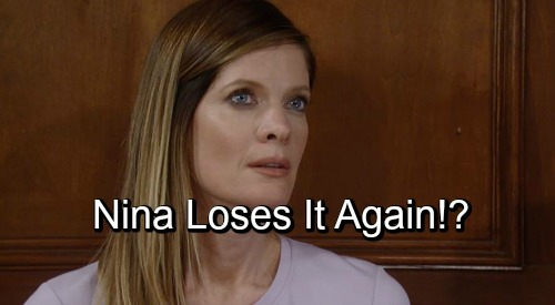 General Hospital Spoilers: Nina's Crazy Side Comes Out Again – Daughter Drama Leads to Downward Spiral?