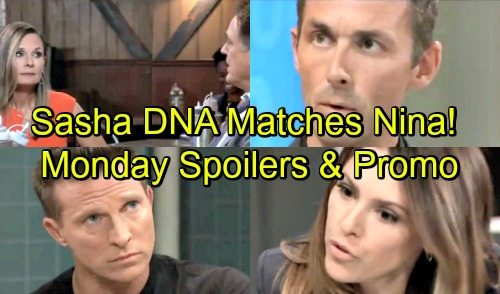 General Hospital Spoilers: Monday, October 1 – Sasha's DNA Matches Nina's – Margaux and Jason Face Off – Ryan's Deadly Plans