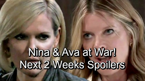 General Hospital Spoilers Next 2 Weeks: Liz Gets Crushing News – Nina and Ava Go To War - Spinelli Investigates for Carly