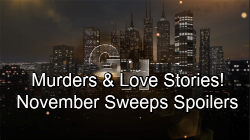 General Hospital Spoilers: November Sweeps Preview – Major GH Bombs Drop, Murderer Strikes as Love Stories Heat Up
