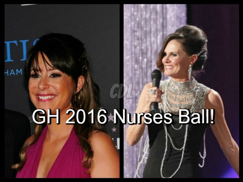 General Hospital Spoilers: Kimberly McCullough and Lynn Herring Return For GH 2016 Nurses Ball