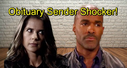 General Hospital Spoilers: Curtis and Sam Make a Startling Connection – Obituary Sender Shocker Leaves Sam Shaken