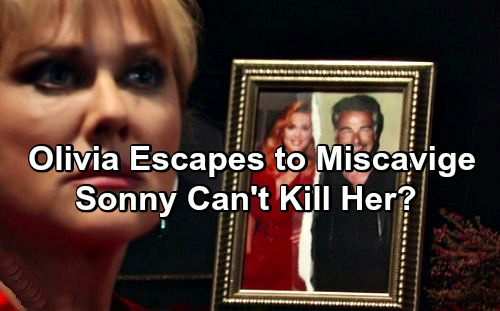 General Hospital Spoilers: Olivia Escapes Justice for Morgan's Death - Sonny Furious As Jerome Sister Sent to Asylum