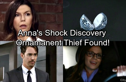 General Hospital Spoilers: Week of January 8 - Anna Learns Who Swiped Ornament, Stole Drew's Memories - Shocking Thief Exposed