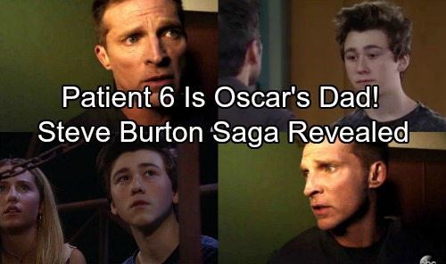 General Hospital Spoilers: Patient Six Revealed as Oscar's Father – Another Shocking Twist in Steve Burton Saga