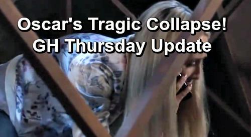 General Hospital Spoilers: Thursday, April 4 Update – Paramedics Rush to Collapsed Oscar, Parents Frantic – Ryan Haunts Ava