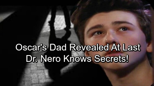 General Hospital Spoilers: Oscar Father's Revealed At Last - Dr. Kim Nero Knows Too Much